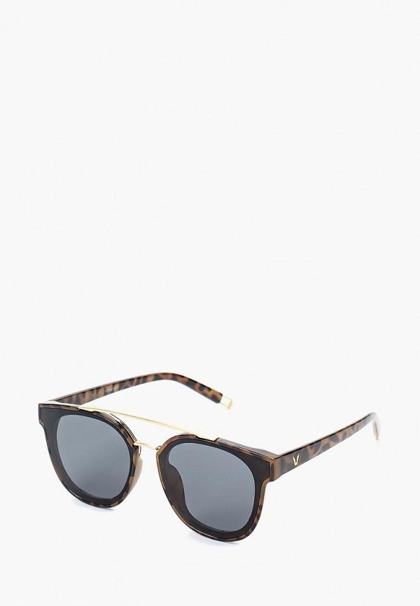 Очки солнцезащитные Vitacci, MP002XW0Z8YE, коричневый, Весна-лето 2018  - купить со скидкой