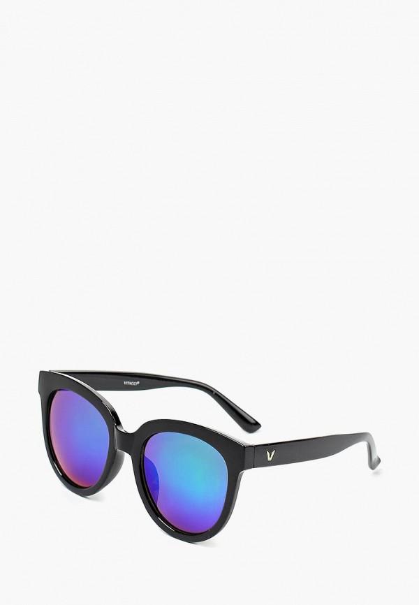 Очки солнцезащитные Vitacci, MP002XW0Z8YT, черный, Весна-лето 2018  - купить со скидкой