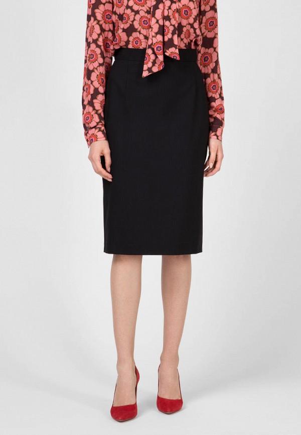 женская прямые юбка kano, черная