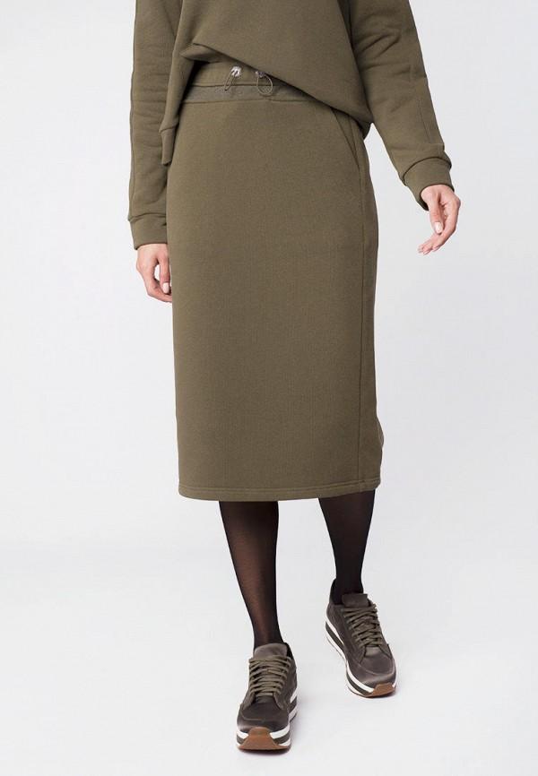 женская прямые юбка mr520, хаки
