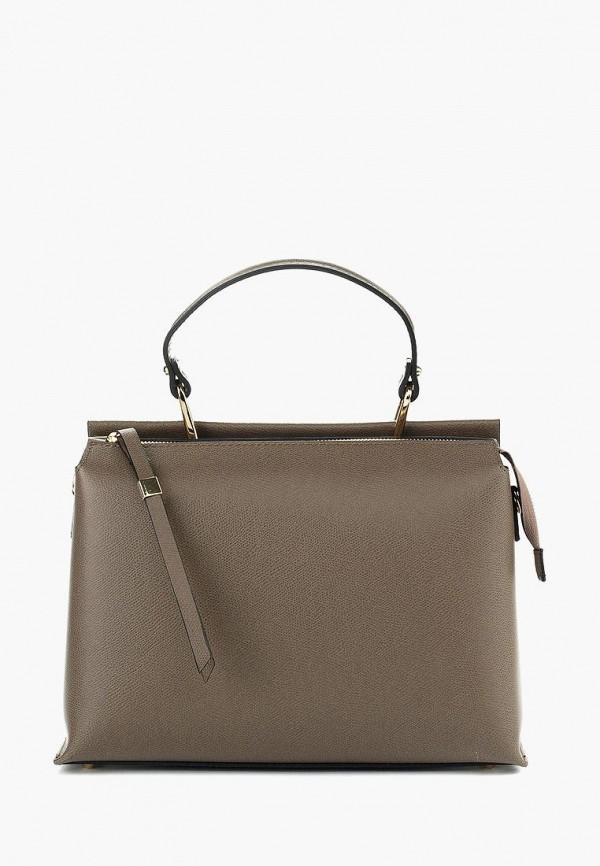женская сумка vivat accessories, коричневая