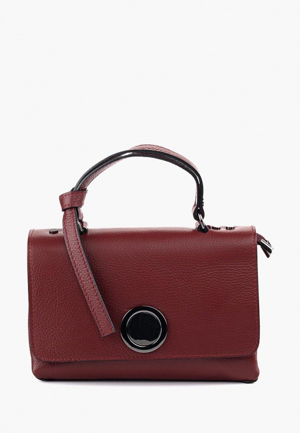 женская сумка vivat accessories, бордовая