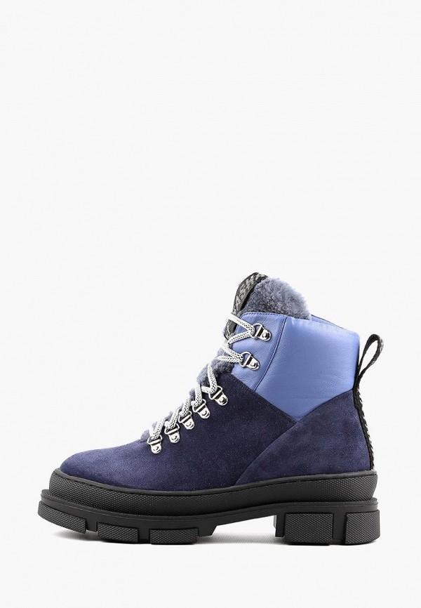 женские ботинки sasha fabiani, синие