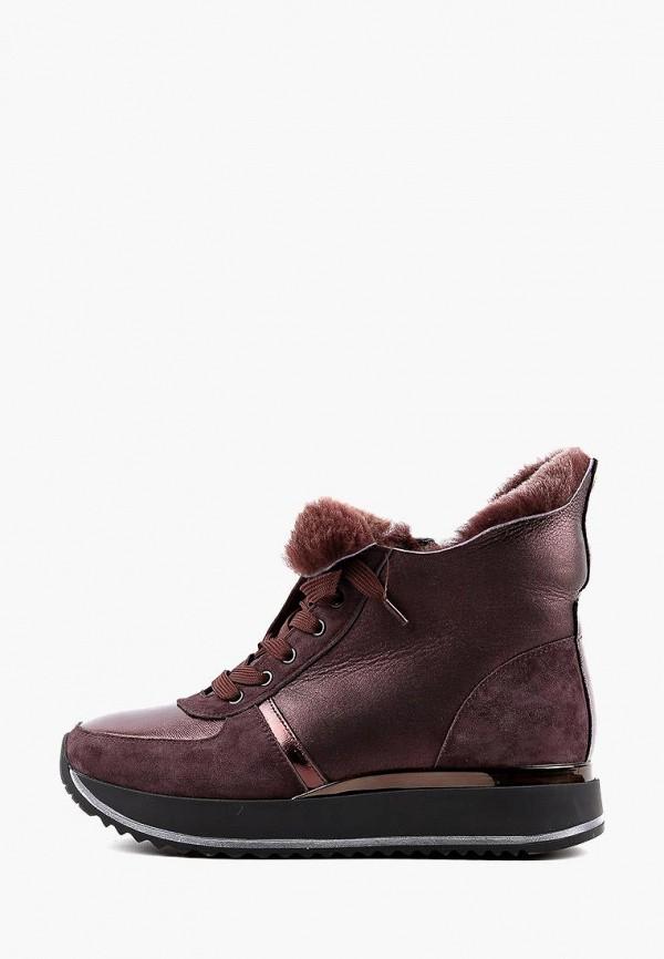 женские ботинки leberdes, фиолетовые