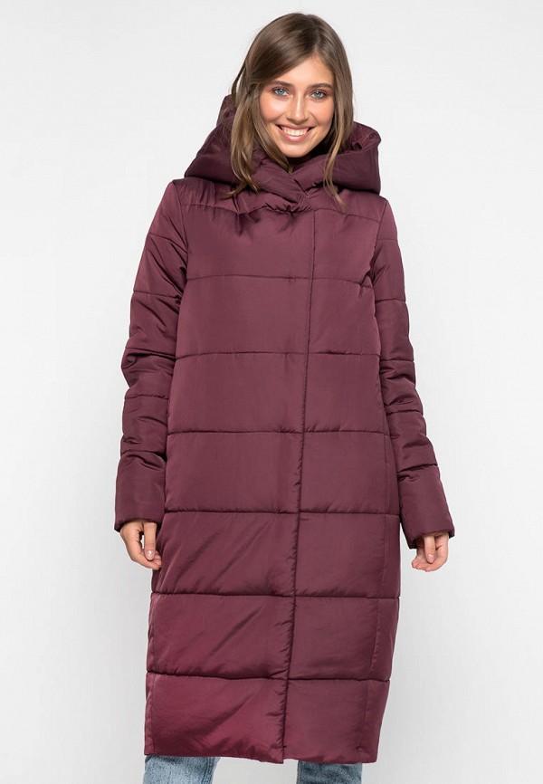 женская куртка modniy oazis, бордовая