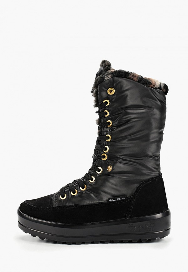 женские сапоги king boots, черные