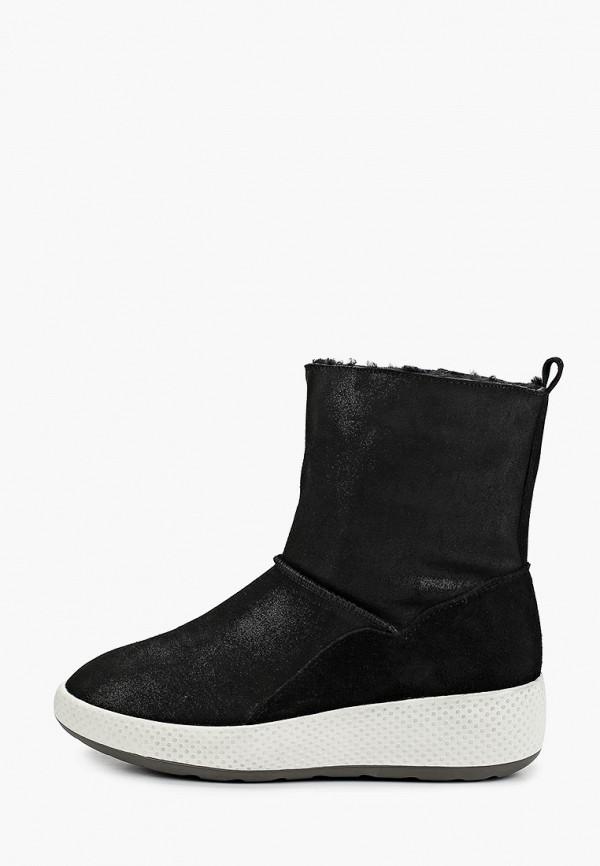 женские полусапожки king boots, черные
