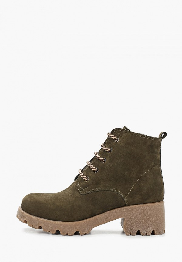 женские ботинки king boots, хаки