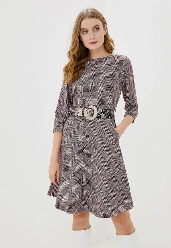 женское повседневные платье francesco donni, фиолетовое
