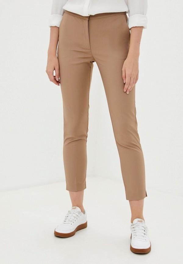 женские повседневные брюки francesco donni, бежевые