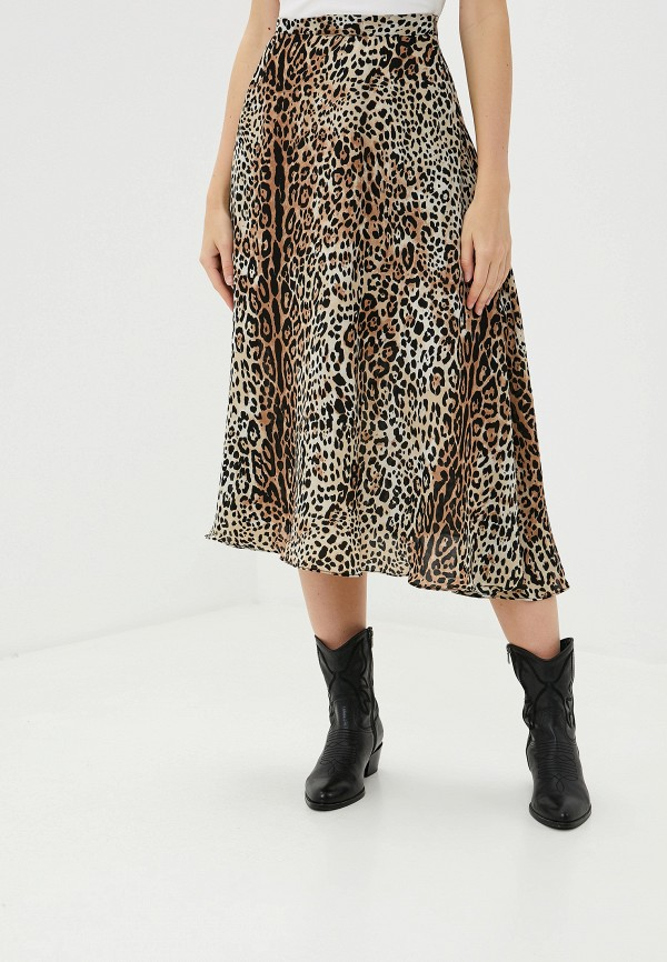 женская юбка-трапеции francesco donni, разноцветная