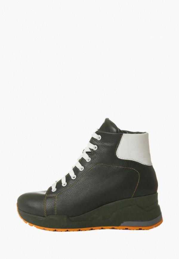 женские ботинки vm-villomi, зеленые