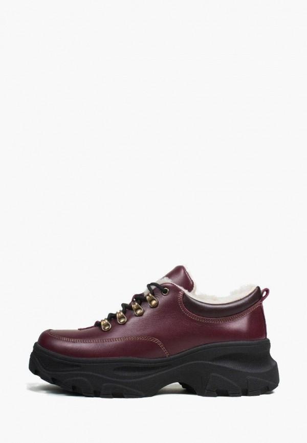 женские ботинки vm-villomi, бордовые