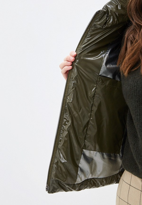 Фото 4 - Куртку утепленная Joymiss цвета хаки