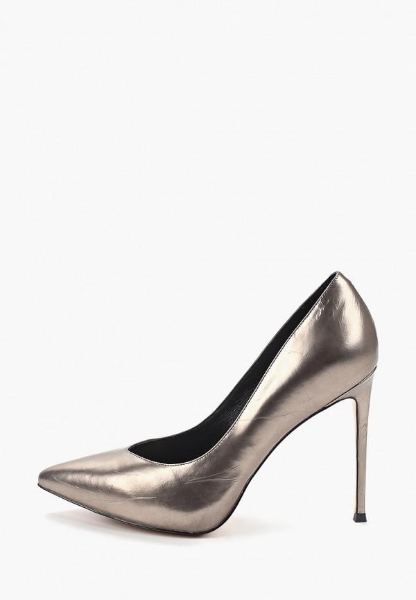 женские туфли-лодочки stivalli, серые