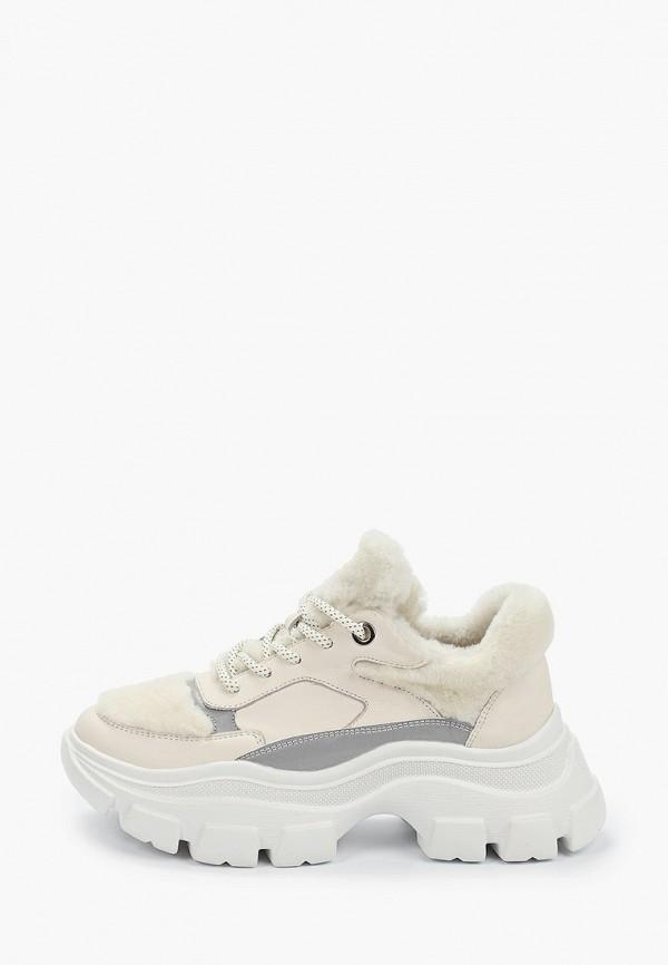 женские низкие кроссовки stivalli, бежевые