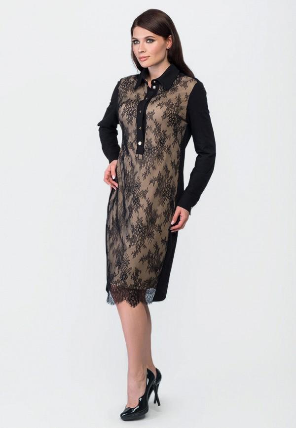 женское вечерние платье o&j, черное