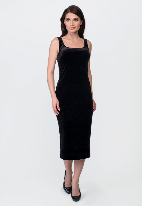 женское платье-футляр o&j, черное