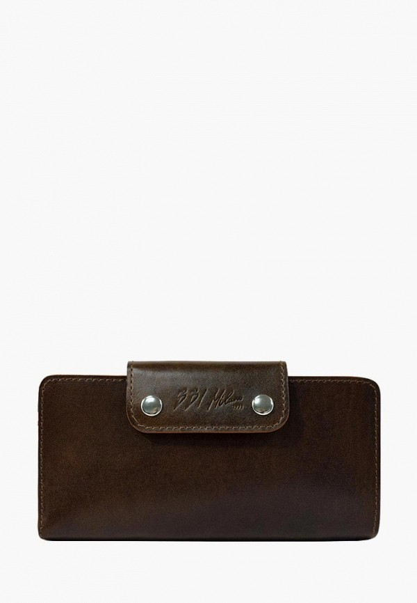 Купить Женский кошелек или портмоне BB1 коричневого цвета