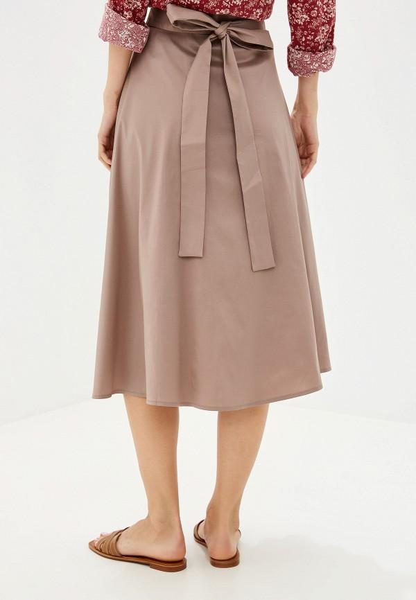 Фото 3 - Женскую юбку Victoria Kuksina бежевого цвета