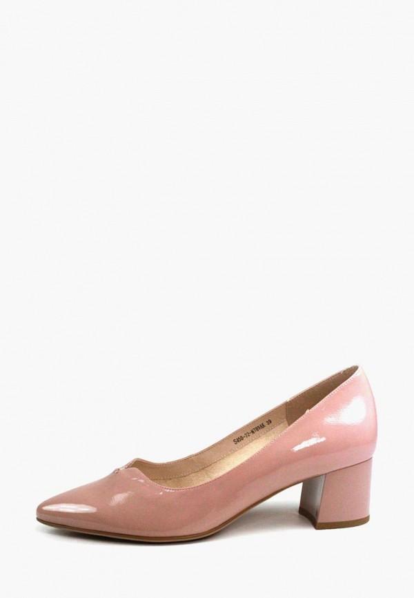 женские туфли magnori, розовые