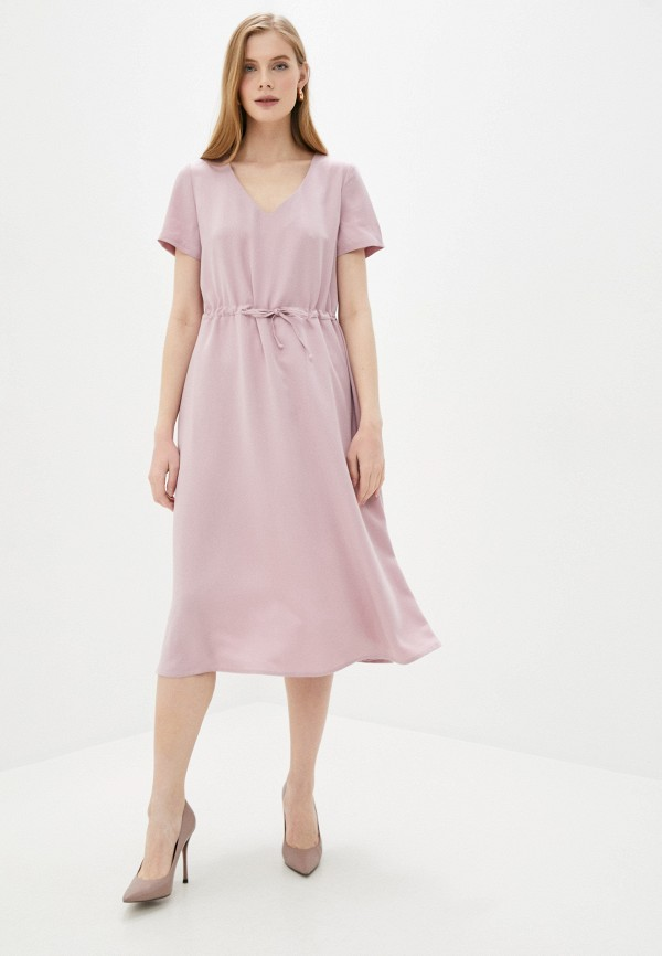 Платье Vivostyle цвет розовый