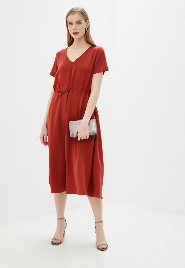 Платье Vivostyle цвет красный