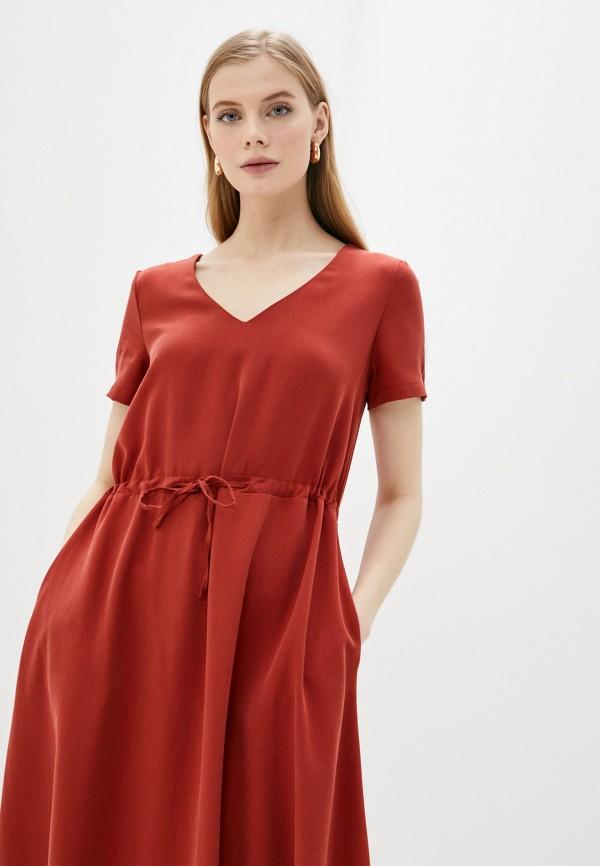 Платье Vivostyle цвет красный  Фото 2