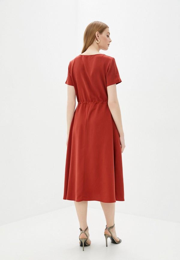 Платье Vivostyle цвет красный  Фото 3