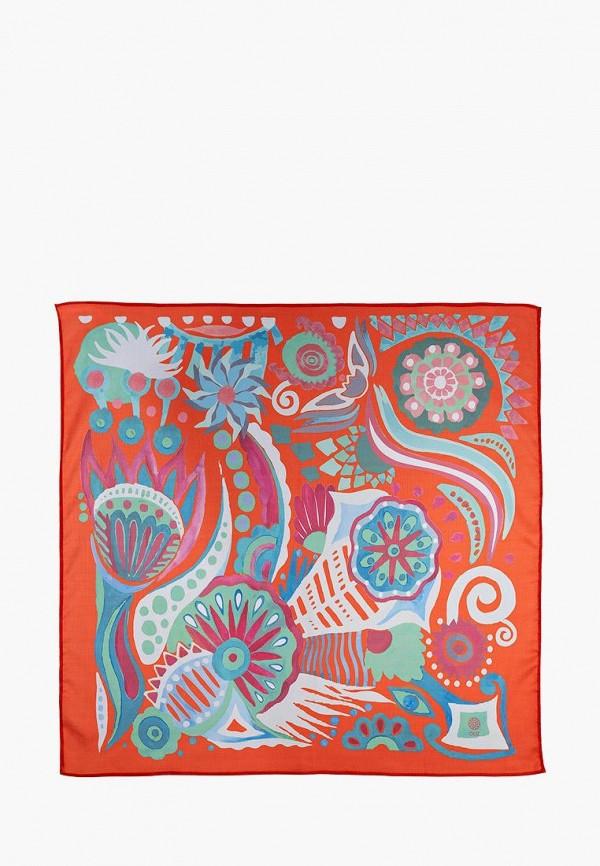 женский платок oliz, оранжевый