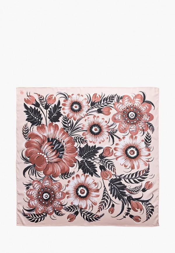 женский платок oliz, розовый