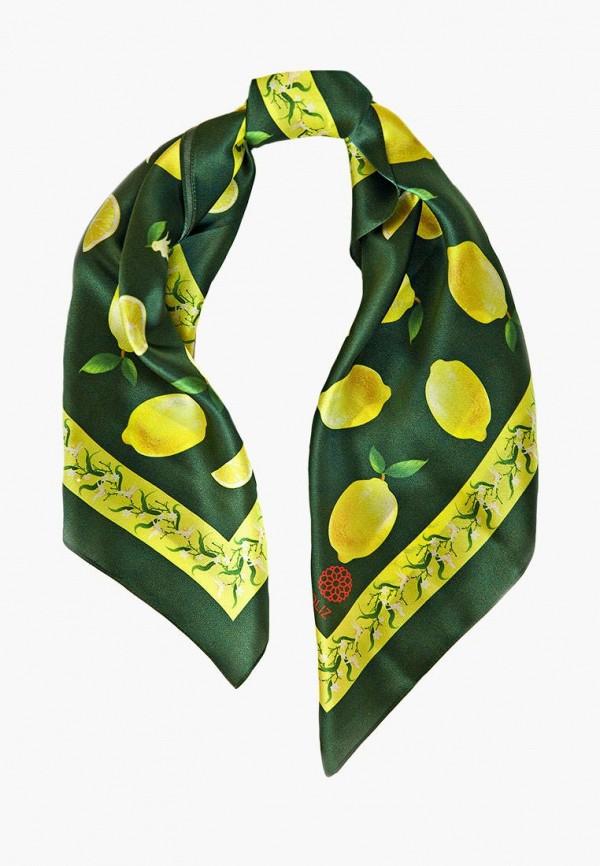 женский платок oliz, зеленый