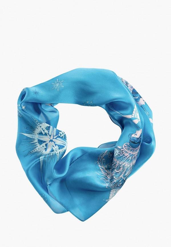 женский шарф oliz, голубой