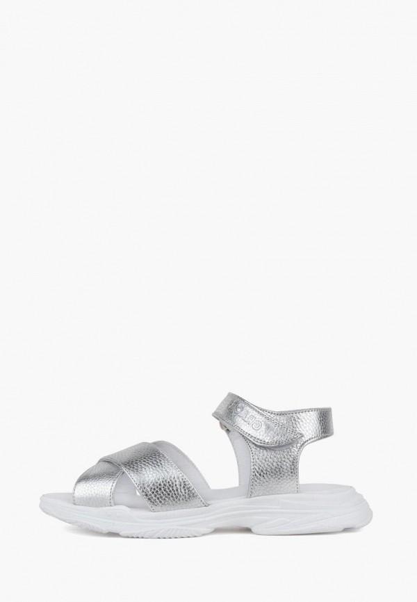 женские сандалии grace, серебряные