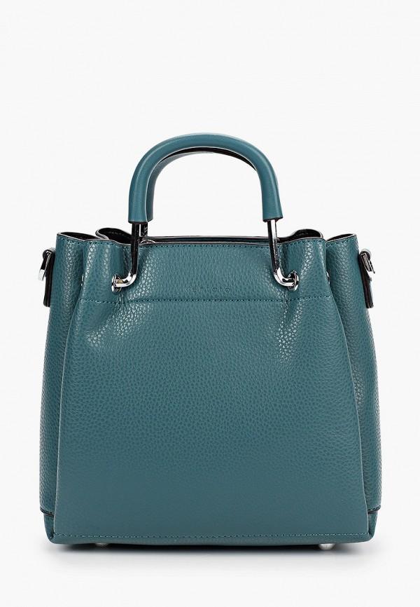 женская сумка через плечо ventoro, бирюзовая