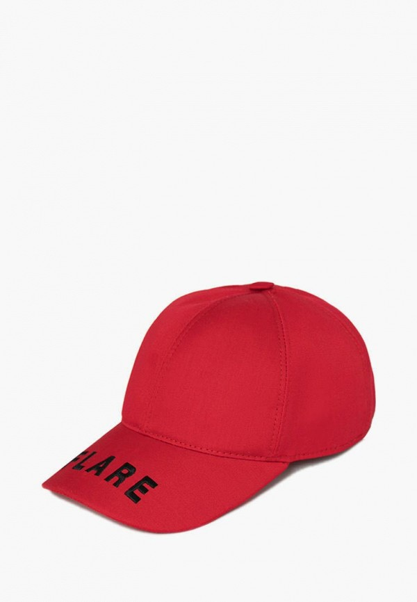 Бейсболка Finn Flare красного цвета