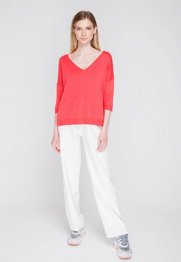 Пуловер Fors цвет коралловый  Фото 2
