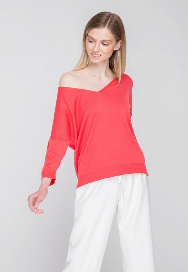 Пуловер Fors цвет коралловый