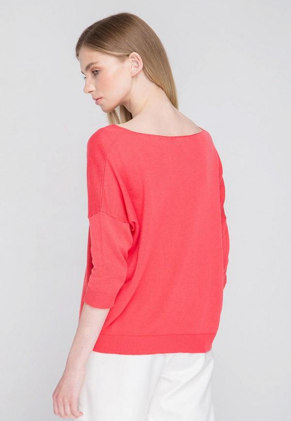 Пуловер Fors цвет коралловый  Фото 3