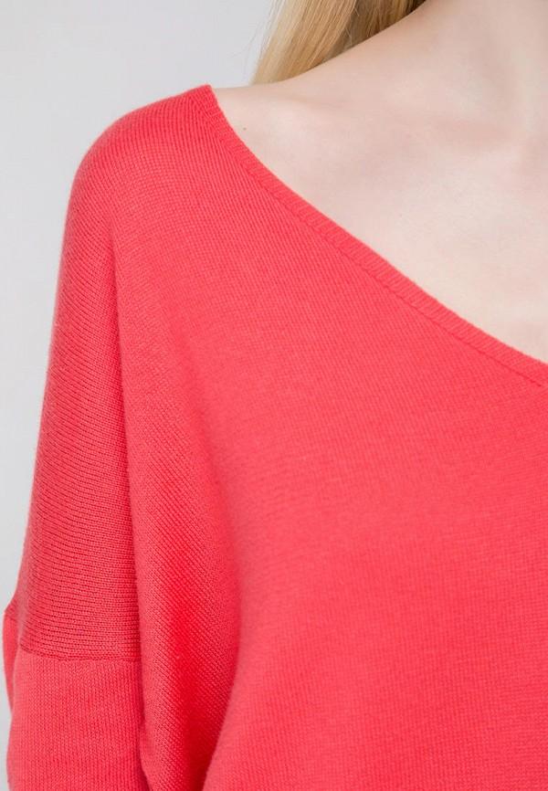 Пуловер Fors цвет коралловый  Фото 4