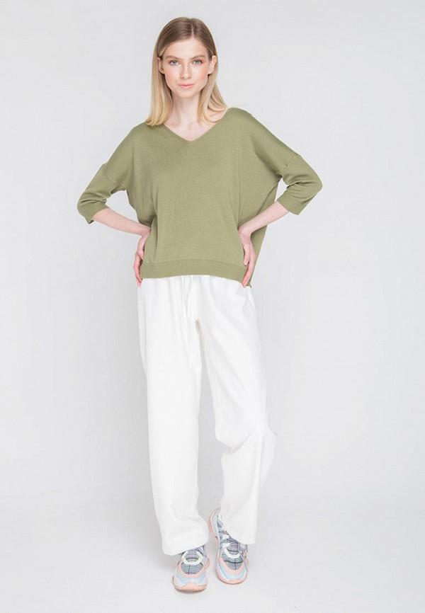 Пуловер Fors цвет хаки  Фото 2