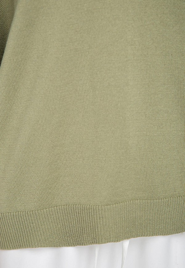 Пуловер Fors цвет хаки  Фото 4