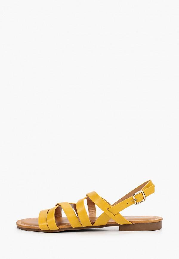 женские сандалии bridget, желтые