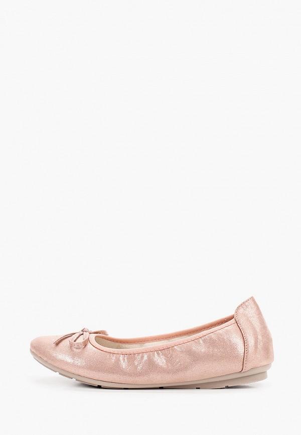 женские балетки bridget, розовые