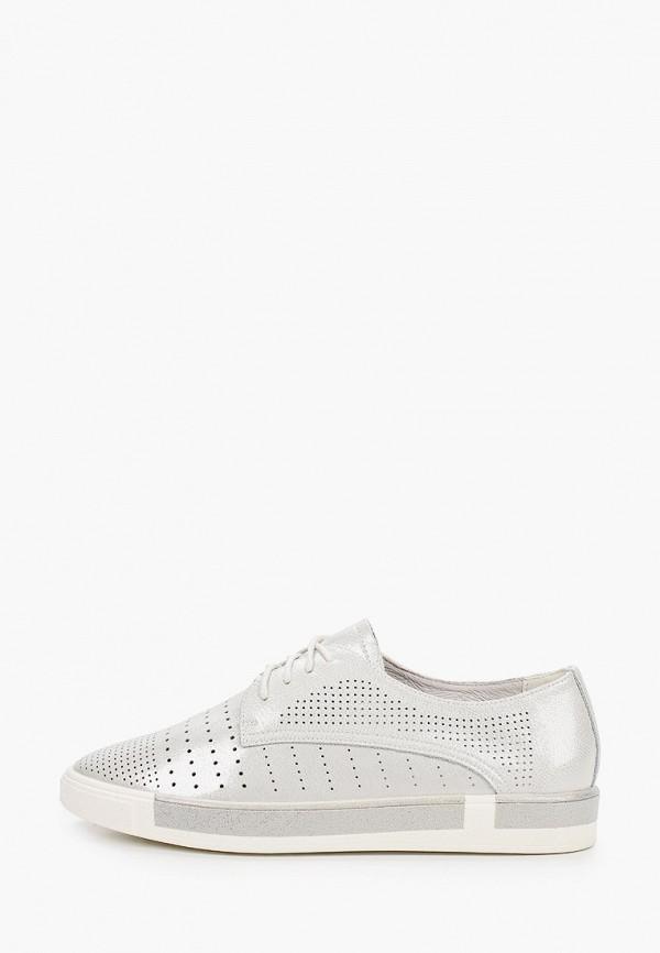 женские низкие ботинки thomas munz, серебряные