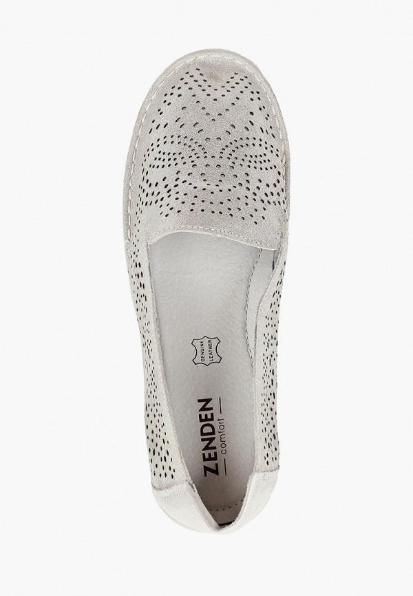 Туфли Zenden Comfort цвет серебряный  Фото 4