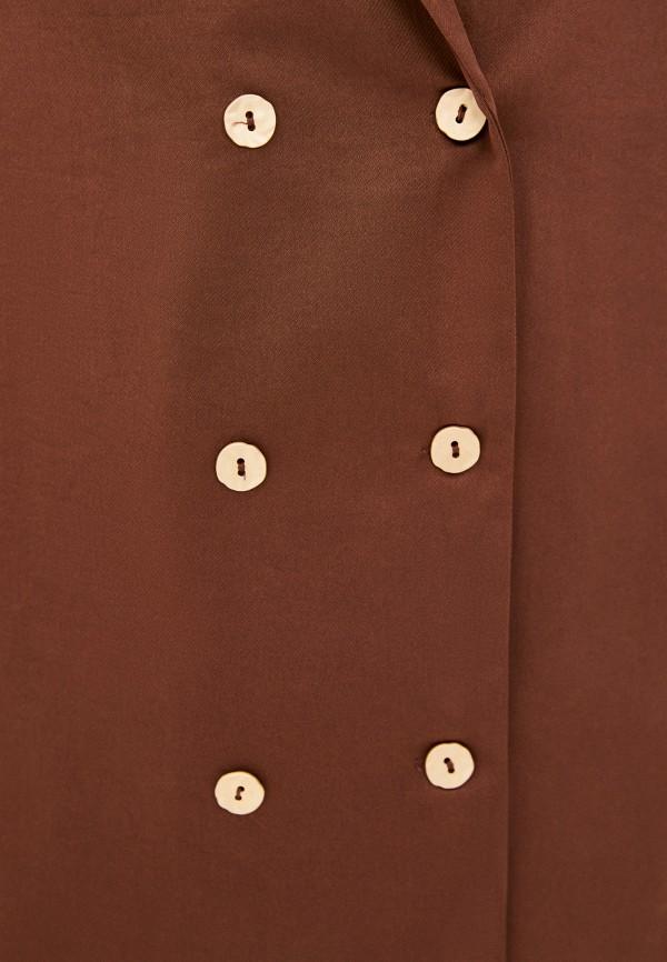 Жакет Снежная Королева цвет коричневый  Фото 4