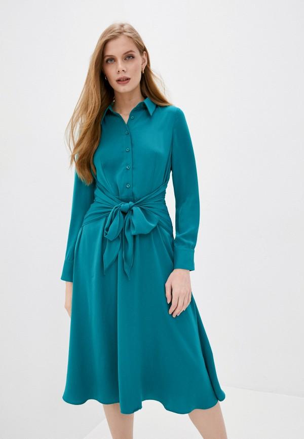 Платье Снежная Королева цвет бирюзовый