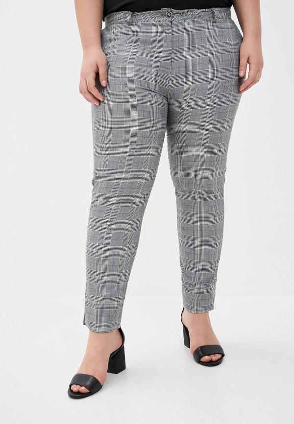 женские зауженные брюки le monique, серые
