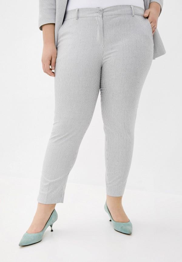 женские повседневные брюки le monique, серые